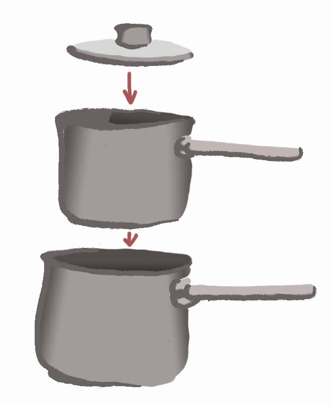 Illustration of a porringer by Hannah Foley. All rights reserved (www.owlingabout.co.uk).