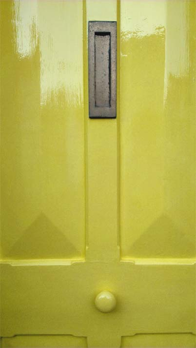 yellow, door, front door, original, Victorian