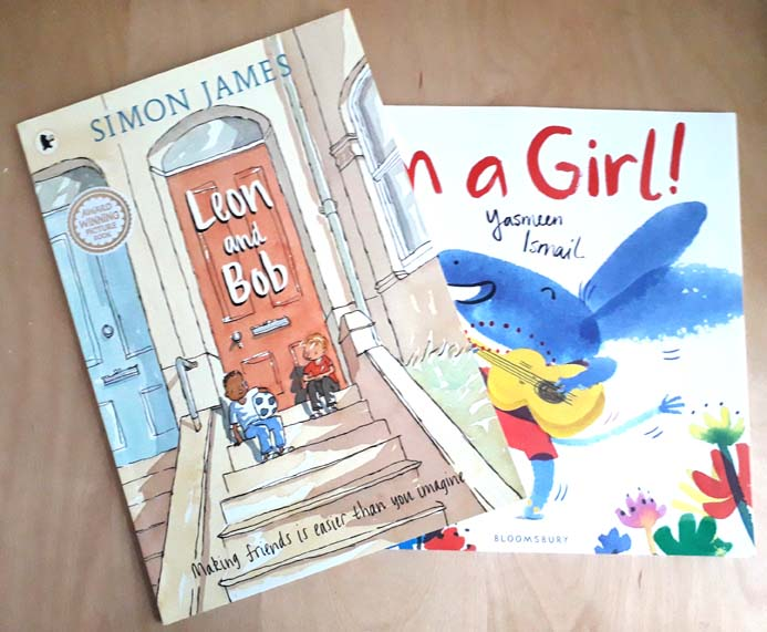Leon and Bob, Simon James, I'm a Girl, Yasmeen Ismail