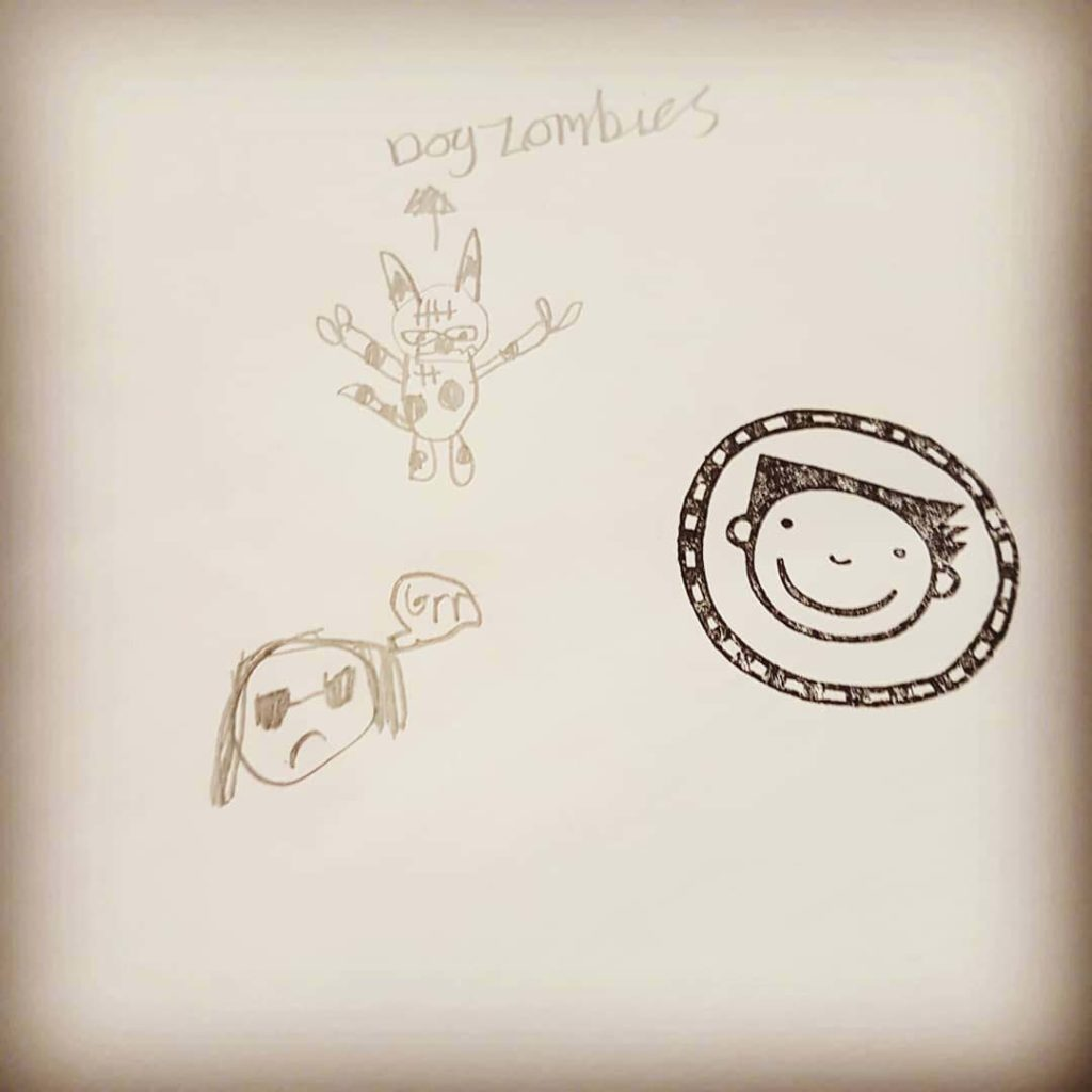 Children's doodles get the Tom Gates seal of approval at Liz Pichon's book events.
