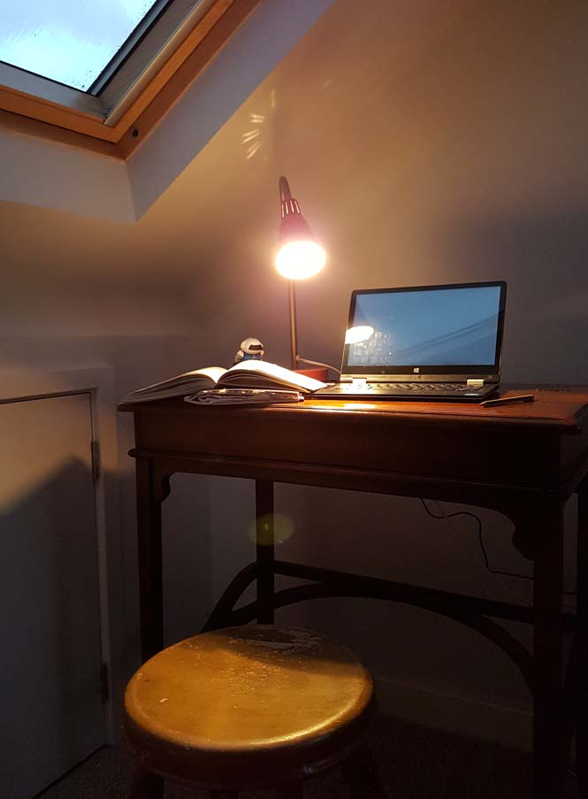 My writing desk by Hannah Foley. All rights reserved (www.hannah-foley.co.uk)