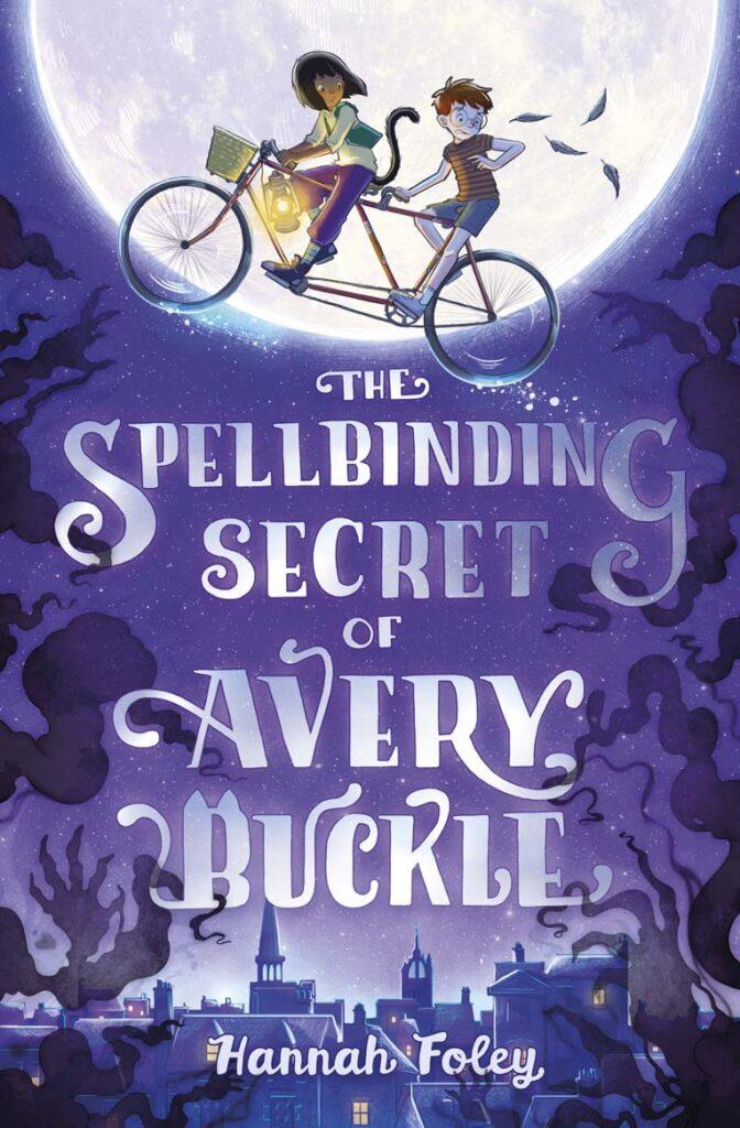 Cover of The Spellbinding Secret of Avery Buckle. Artwork by Xavier Bonet