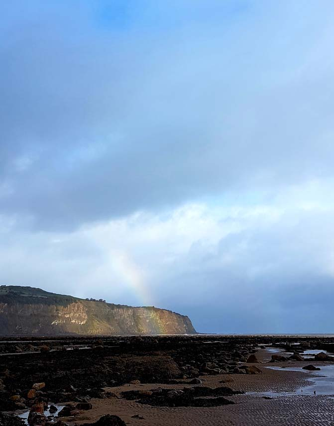 Rainbow over Robin Hood's Bay by Hannah Foley. All rights reserved (www.hannah-foley.co.uk)
