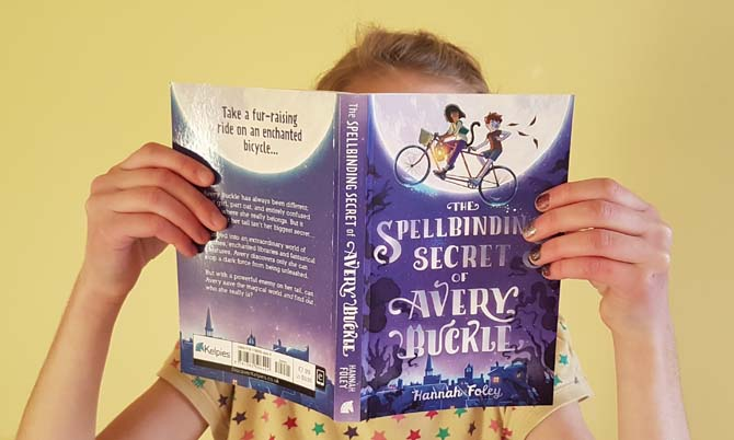 The Spellbinding Secret of Avery Buckle by Hannah Foley. Photograph by Hannah Foley (all rights reserved: www.hannah-foley.co.uk)