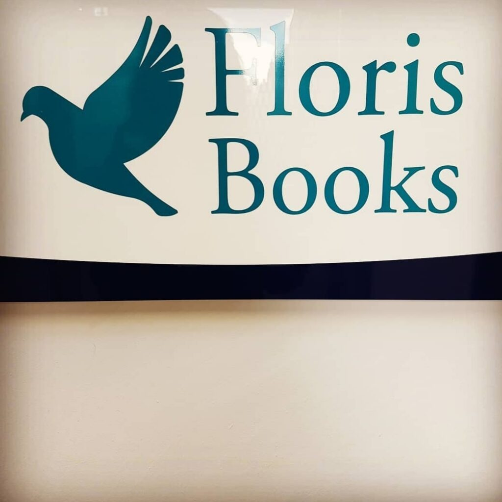 Floris Books office sign. Photograph by Hannah Foley. All rights reserved (www.hannahfoley.co.uk)