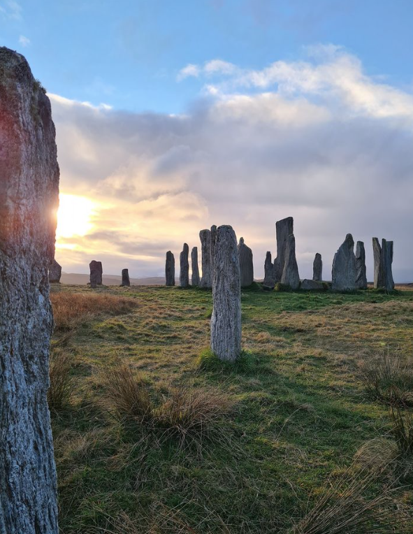 Stones of Callanish - apologies, I couldn't find anyone to credit for this image, or who to contact to see if it was okay to use. Let me know if it is you! :-)