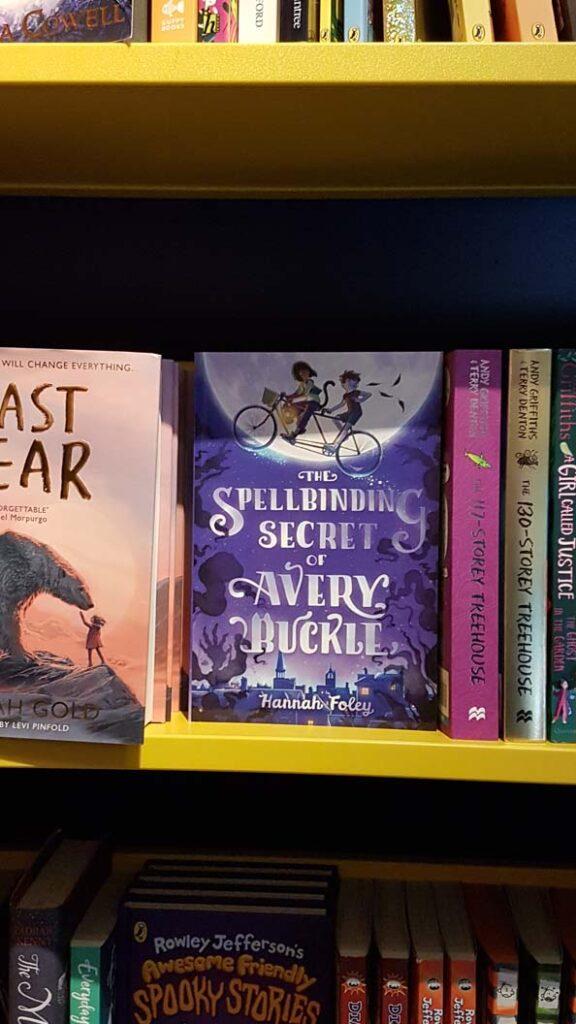 The Spellbinding Secret of Avery Buckle in Aberfeldy bookshop by Hannah Foley. All rights reserved (www.hannah-foley.co.uk)